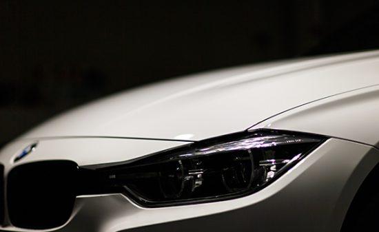 BMW320i ガラスコーティング 広島市のお客様より