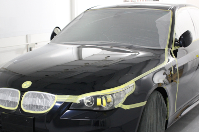 BMW コーティング施工00