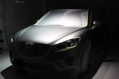 CX5 ガラスコーティング01