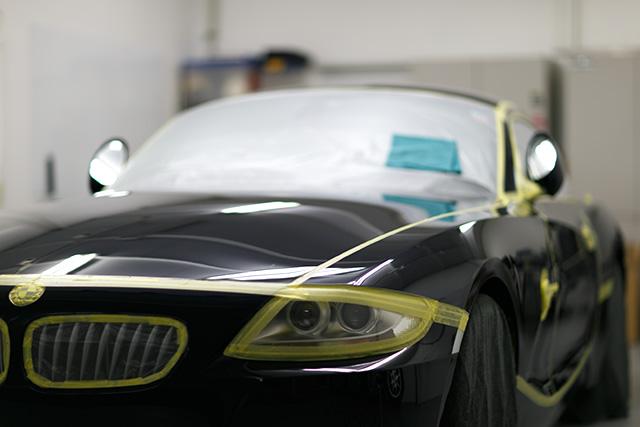 BMW Z4 コーティング施工 No.00