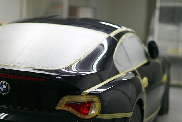 BMW Z4 コーティング施工 No.01