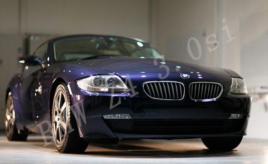 BMW Z4 ガラスコーティング施工例 東広島市