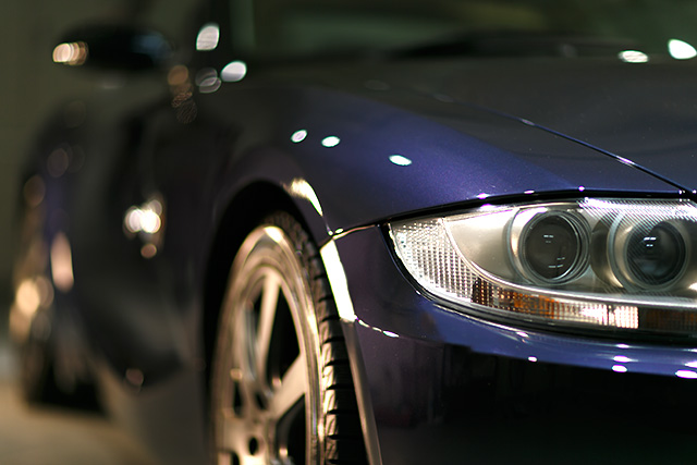 BMW Z4 コーティング施工 No.07
