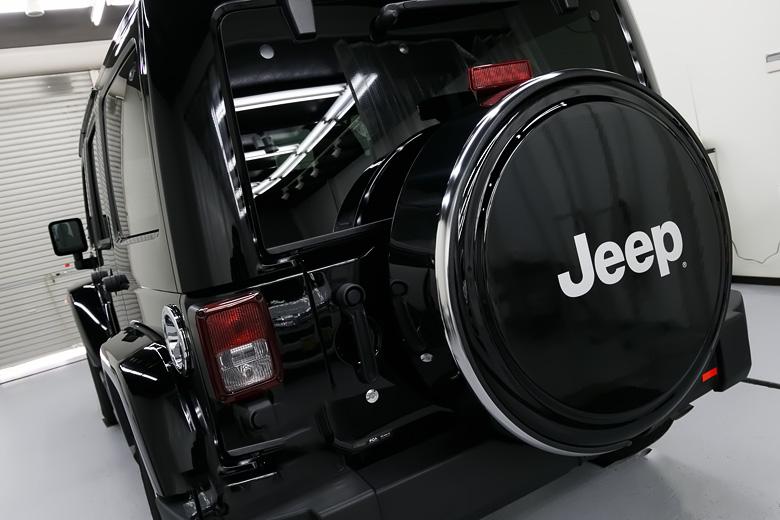 Jeep ジープ ガラスコーティング施工 No.05