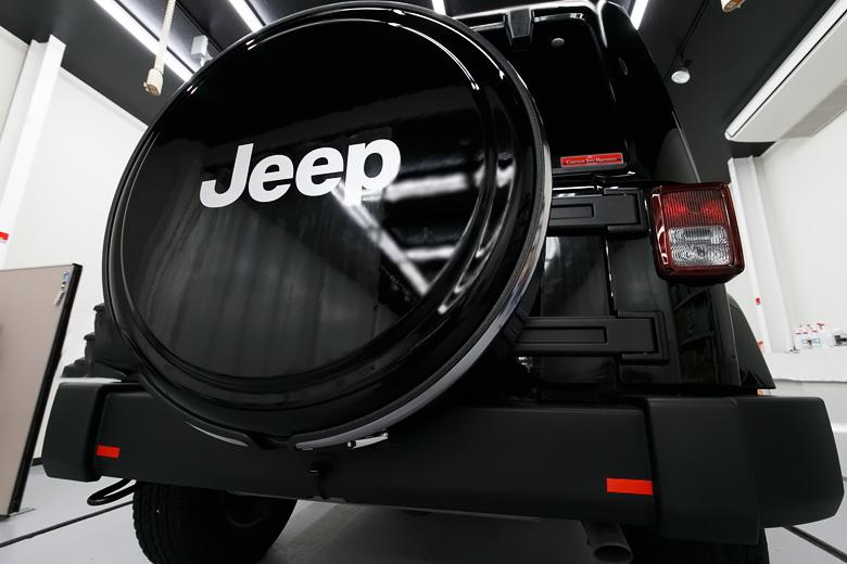 Jeep ジープ ガラスコーティング施工 No.03