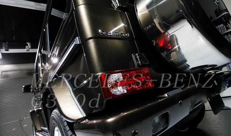 メルセデスベンツ G350D ガラスコーティング シーズ広島