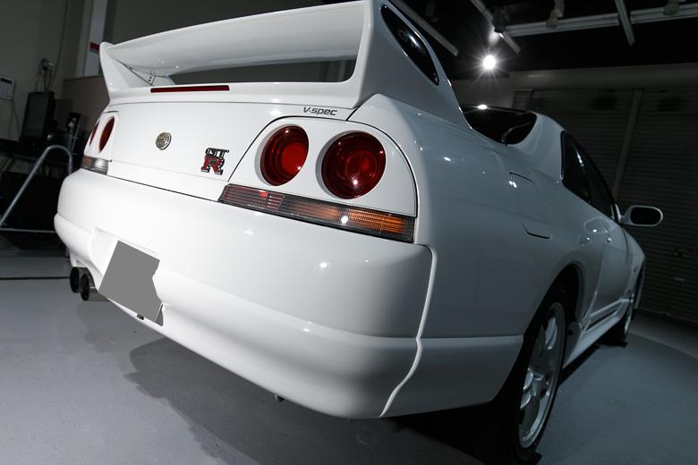R33 GTR ガラスコーティング No.08