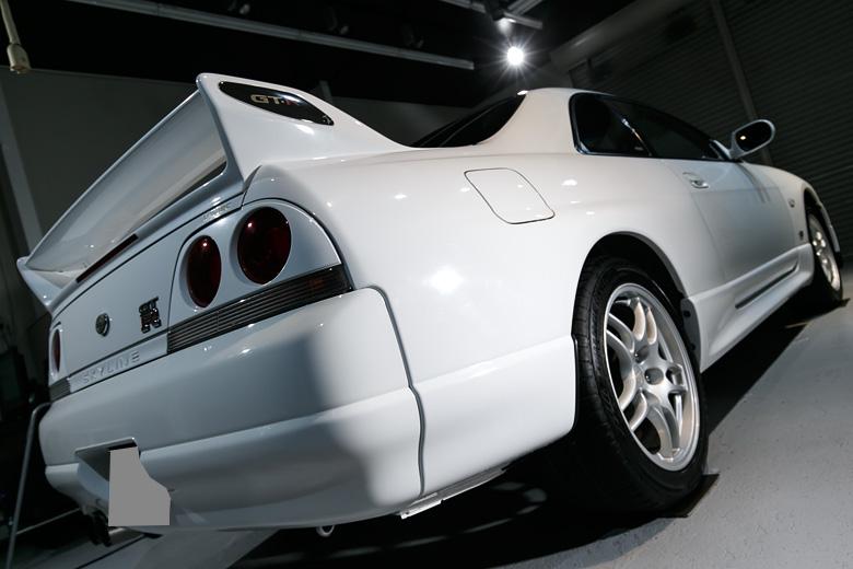 R33 GTR ガラスコーティング No.06