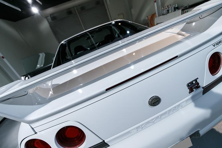 R33 GTR ガラスコーティング No.00