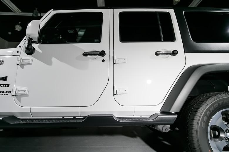 Jeep 磨きとガラスコーティング施工 No.03