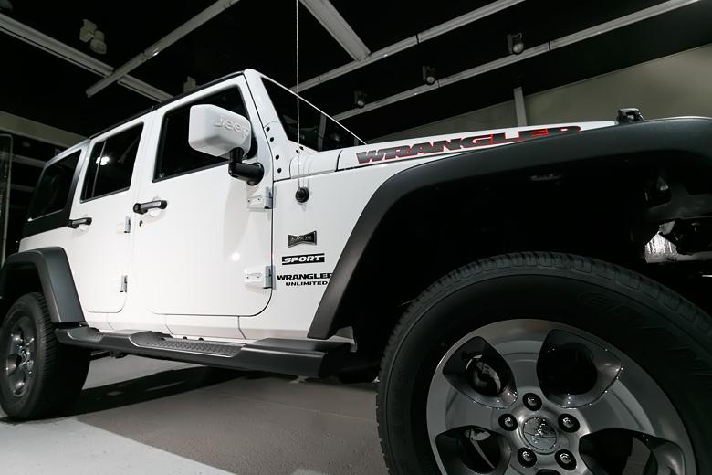 Jeep 磨きとガラスコーティング施工 No.04