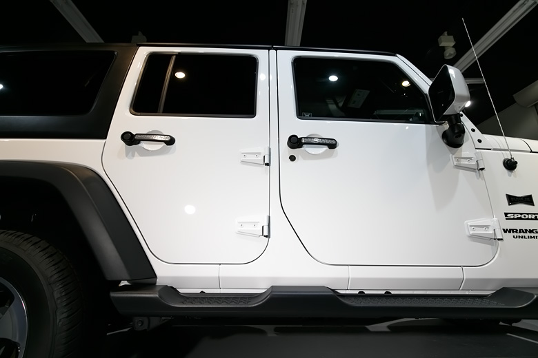 Jeep 磨きとガラスコーティング施工 No.07