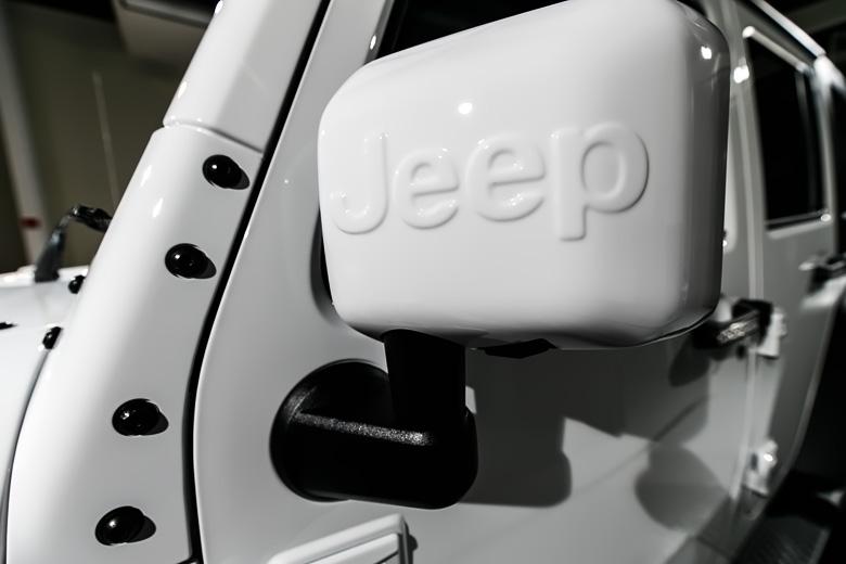 Jeep 磨きとガラスコーティング施工 No.11