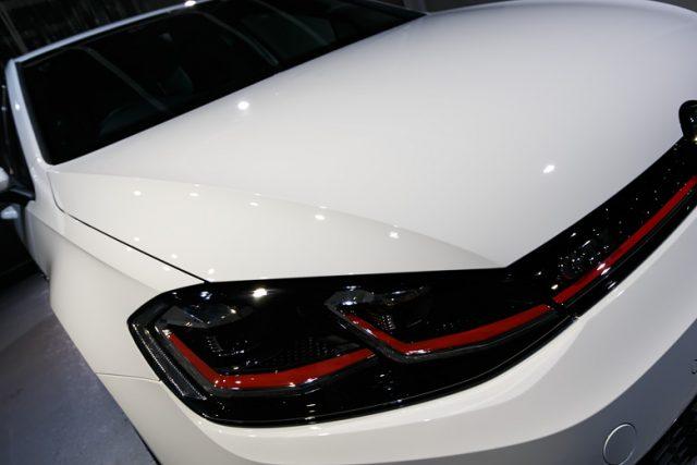 VW ゴルフGTI ガラスコーティング